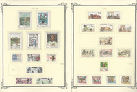 Czechoslavakia Stamp Collection on 26 Scott Specialty Pages, 1987-96, JFZ