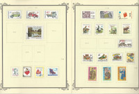 Czechoslavakia Stamp Collection on 35 Scott Specialty Pages, 1996-2011, JFZ