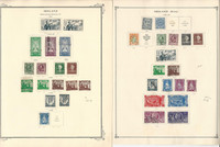Ireland Stamp Collection on 21 Scott Pages, 1941-74, JFZ