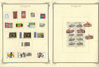 Netherlands Stamp Collection on 36 Scott Specialty Pages, 2000-2006, JFZ
