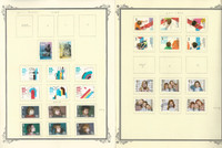 Netherlands Stamp Collection on 13 Scott Specialty Pages, 2000-14 Semis, JFZ