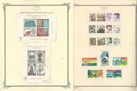 Spain Stamp Collection on 24 Scott Specialty Pages, 1975-1984, JFZ