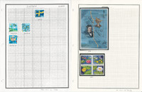 Sweden Stamp Collection on 12 Pages, 2011-2012 Mint NH & Used, JFZ