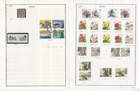 Sweden Stamp Collection on 6 Pages, 2001 Mint NH & Used, JFZ