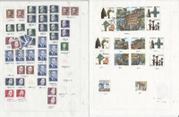 Sweden Stamp Collection on 30 Pages, 1990-1994 Used, JFZ