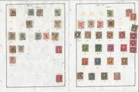 Sweden Stamp Collection on 16 Pages, 1872-1936 Classics Used, JFZ