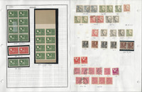 Sweden Stamp Collection on 24 Pages, 1944-1959 Used, JFZ