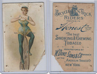 N100 Duke, Bicycle & Trick Riders, 1890, Rolling Cigarette (B)