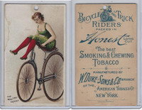 N100 Duke, Bicycle & Trick Riders, 1890, The Maltby Coast (B)
