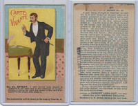 N138 Duke, Tricks With Cards, 1887, #23 Carte Vivante