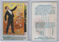 N138 Duke, Tricks With Cards, 1887, #8 Caught On The Fly (Trim)