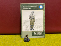 Axis & Allies Miniatures, World War II, China, Kuomintang Officer