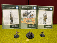 Axis & Allies Miniatures, World War II, China, Lot of 3, Kuomintang