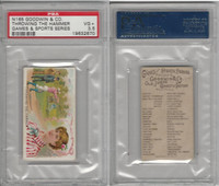 N165 Goodwin, Games & Sports, 1889, Throwing the Hammer, PSA 3.5 VG+