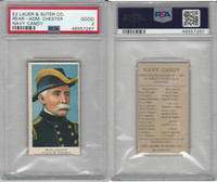 E2 Lauer & Suter, Navy Candy, 1920's, Chester, Colby M., PSA 2 Good
