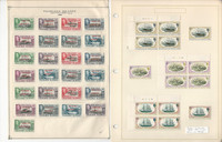 Falkland Islands & Dependencies Stamp Collection on 3 Pages, JFZ