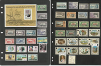 Falkland Islands & Dependencies Stamp Collection on 3 Stock Pages, JFZ