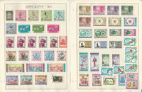 Afghanistan Stamp Collection on 4 Pages, Sports, Animals, JFZ