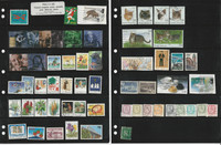 Finland Stamp Collection on 3 Stock Pages, Modern Used All Different, JFZ