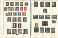 Germany & Area Stamp Collection on 20 Stock Pages, Nice WWII Era, JFZ