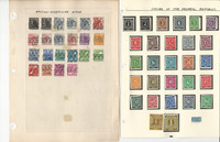 Germany & Area Stamp Collection on 22 Pages, Many Nice Stamps, JFZ