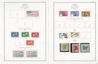 Guinea Stamp Collection on 19 Steiner Pages, 1959-82 Air Post, JFZ