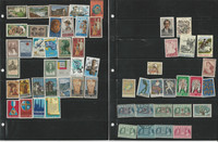 Greece Stamp Collection on 8 Stock Pages, Nice Lot of Stamps, JFZ