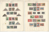 Liberia Stamp Collection on 24 Minkus Pages, 1896-1970, JFZ