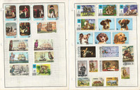 Liberia Stamp Collection on 9 Pages, Topicals, Dogs, Space, Animals, JFZ