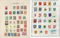Lithuania Stamp Collection on 7 Pages, Nice Selection of Stamps, JFZ