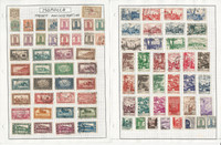 Morocco Stamp Collection on 5 Pages, French Colony, JFZ