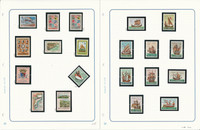 Mozambique & Company Stamp Collection on 12 Pages, Portugal Colony, JFZ