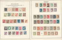 Mozambique & Company Stamp Collection on 11 Pages, Portugal Colony, JFZ
