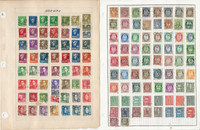 Norway Stamp Collection on 13 Pages, Nice Selection, JFZ