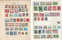 Pakistan Stamp Collection on 9 Pages, Nice Selection, JFZ