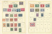 Panama Stamp Collection on 20 Pages, Nice Selection, JFZ