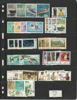 Pitcairn Island Stamp Collection on 2 Pages, Mint NH Sets, JFZ