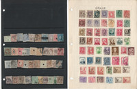 Spain Stamp Collection on 30 Pages, Loaded With Stamps, JFZ