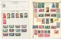 Spain Colonies Stamp Collection on 12 Pages, Loaded With Stamps, JFZ