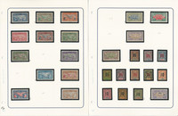 St Pierre Miquelon Stamp Collection on 9 Pages, French Colony, JFZ