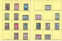 Belgium Stamp Collection on 35 Pages, Neatly Identified #493//1076, JFZ