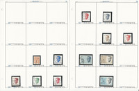 Belgium Stamp Collection on 30 Pages, Neatly Identified #1088//1527, JFZ