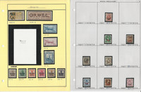 Belgium Stamp Collection on 22 Pages, Neatly Identified, JFZ