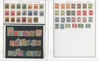 Belgium Stamp Collection on 13 Pages, Many Nice Stamps, JFZ