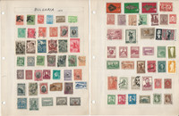 Bulgaria Stamp Collection on 17 Pages, Loaded With Stamps, JFZ