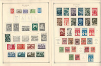 Bulgaria Stamp Collection on 24 Scott International Pages, 1940-1958, JFZ