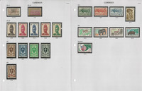 Cameroun Stamp Collection on 9 Pages, 1916-63, French Colony, JFZ