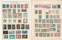 Columbia Stamp Collection on 14 Pages, Loaded With Nice Stamps, JFZ