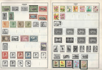Congo Stamp Collection on 11 Pages, 1910-70 Belgian Colony+ JFZ