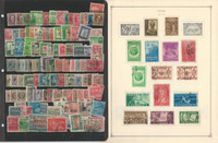 Caribbean Island Stamp Collection on 8 Scott International Pages, JFZ